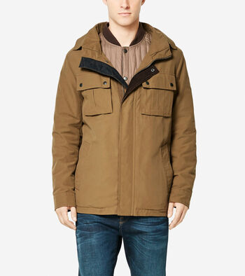 Military Oxford 3-in-1 Utility Jacket
