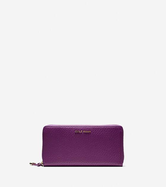 Accessories > Adeline Continental Zip Wallet