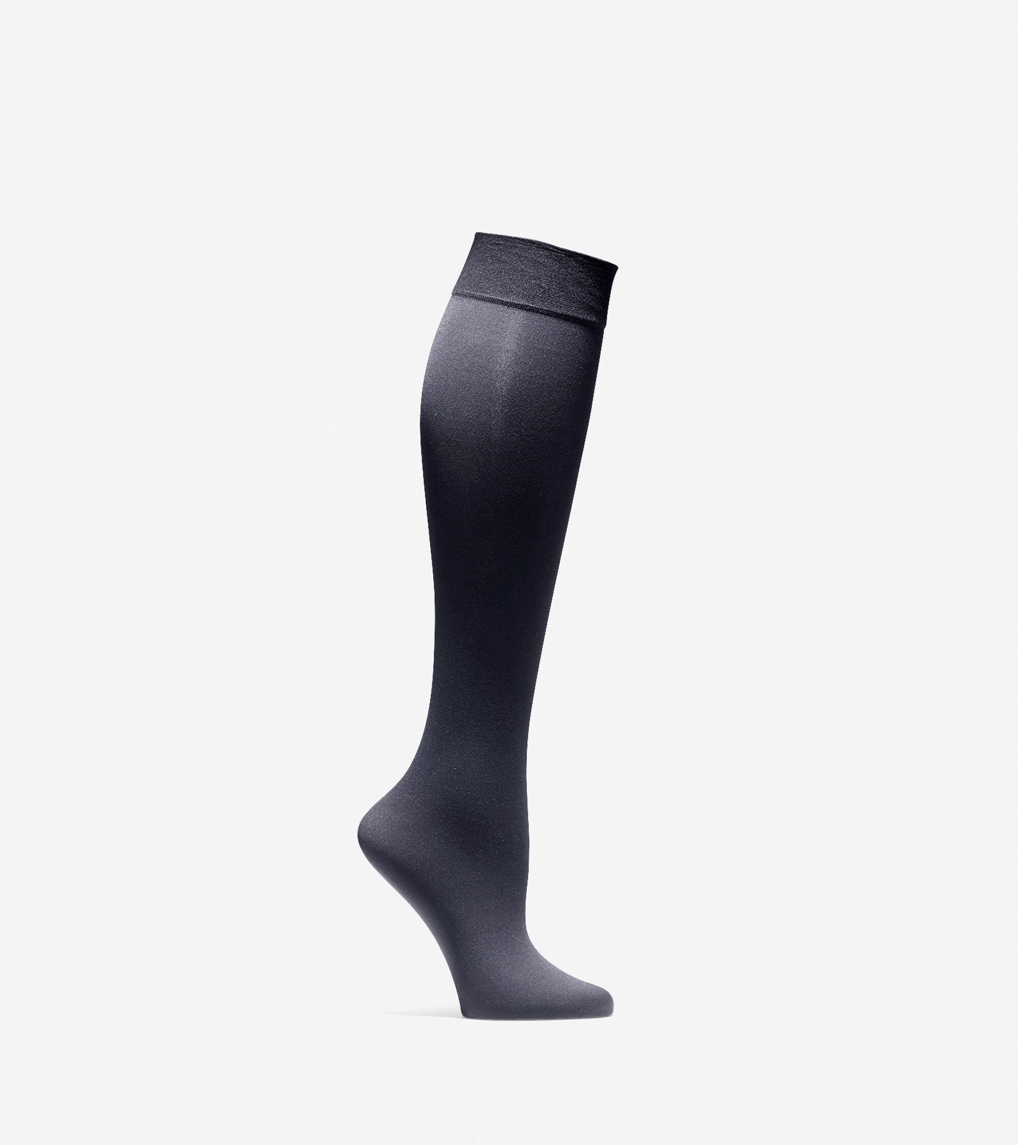 Accessories > Solid Knit Knee Socks