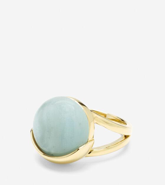 Accessories > Semi-Precious Round Stone Ring