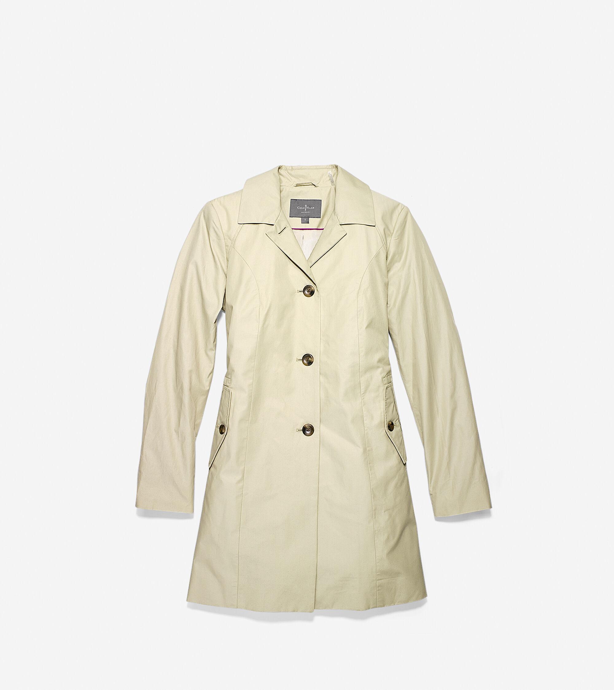 Outerwear > Cotton Nylon Raincoat