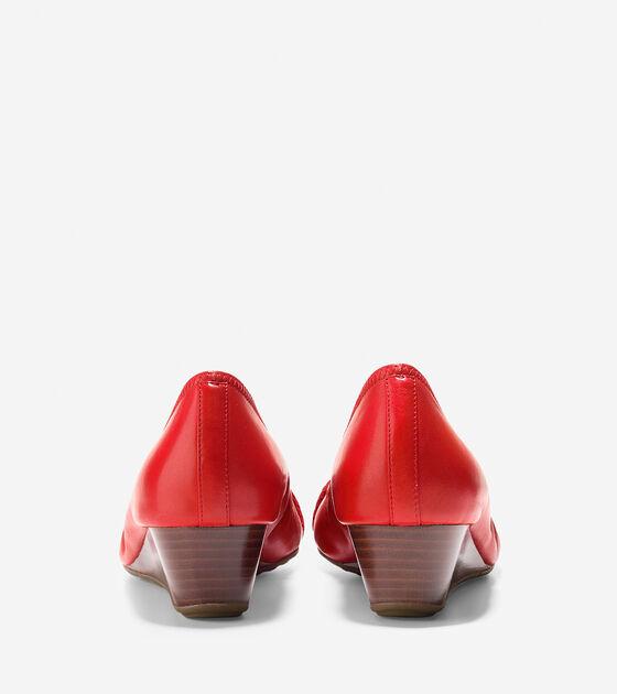 Tali Grand Open Toe Wedge (40mm)