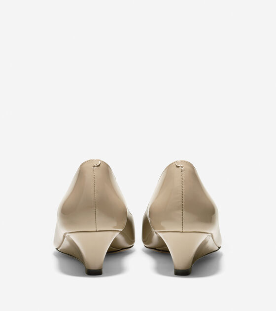 Bethany Wedge (40mm) - Almond Toe