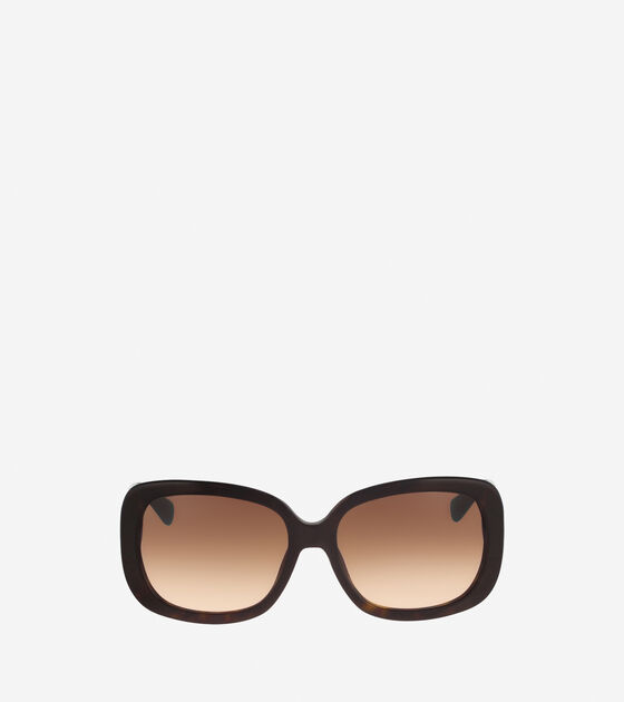 Accessories > Rectangle Acetate Sunglasses
