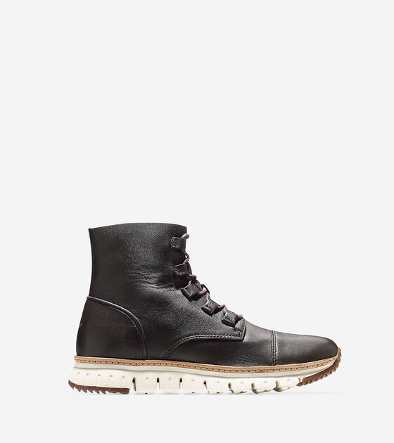 Shoes > Men's ZERØGRAND Cap Toe Boot