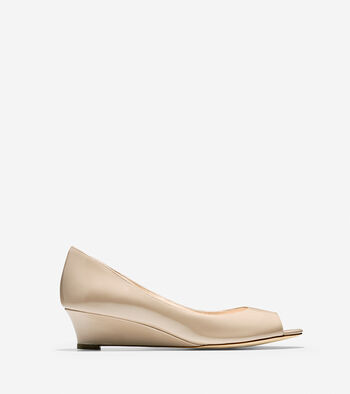 Bethany Open Toe Wedge (40mm)
