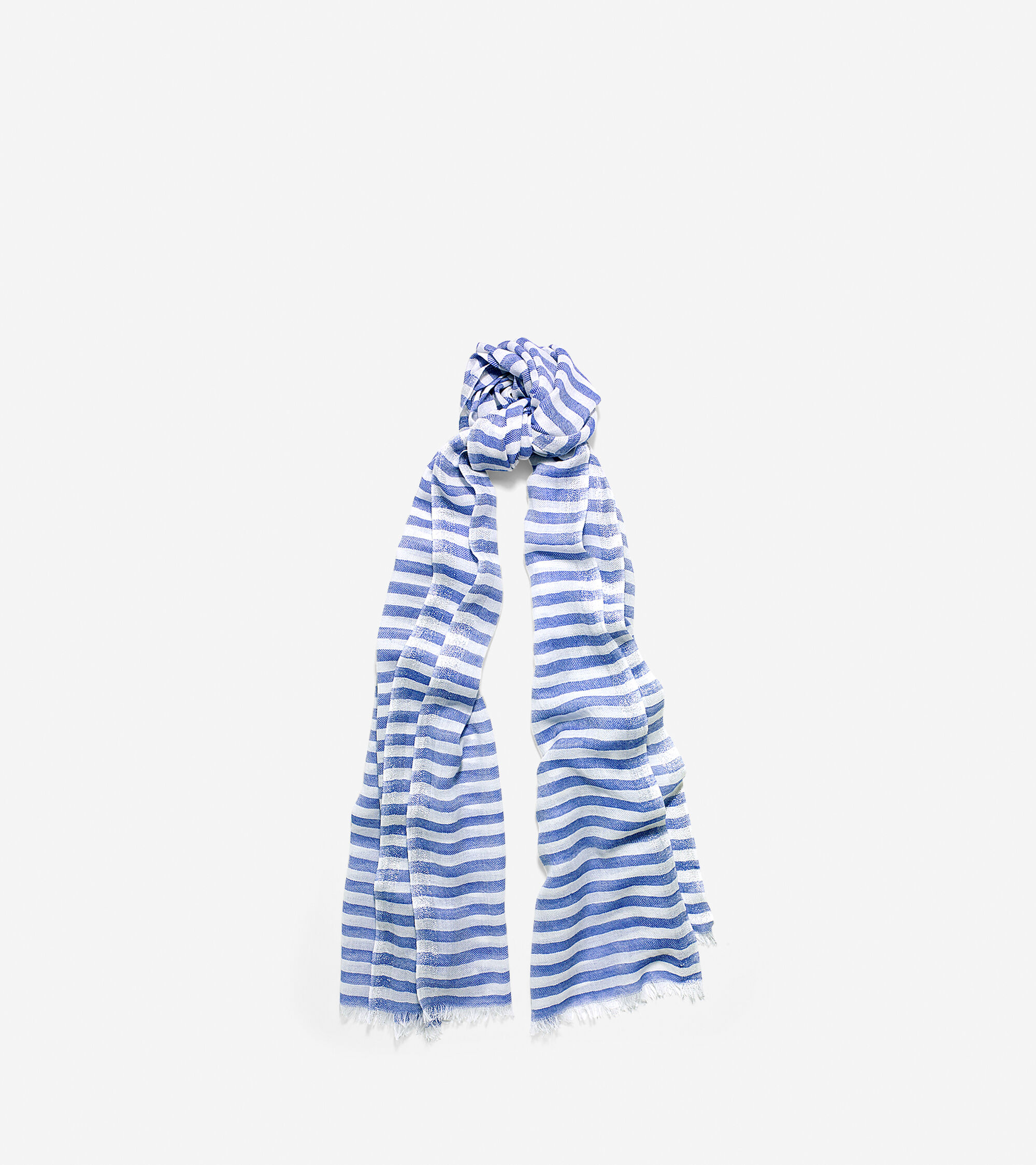Accessories > Lurex Border Stripe Scarf