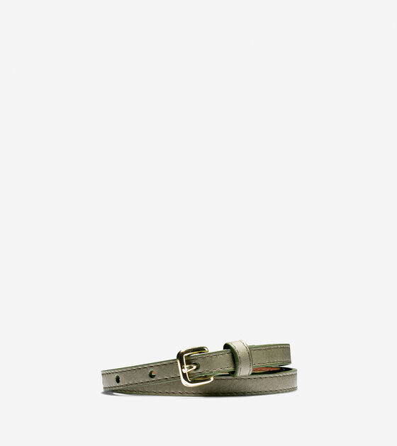 Accessories > Skinny Leather Belt