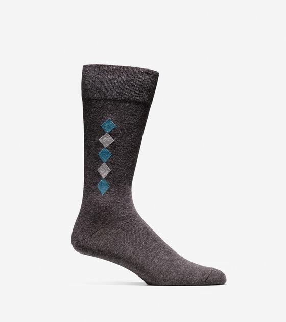 Accessories > Diamond Knit Socks