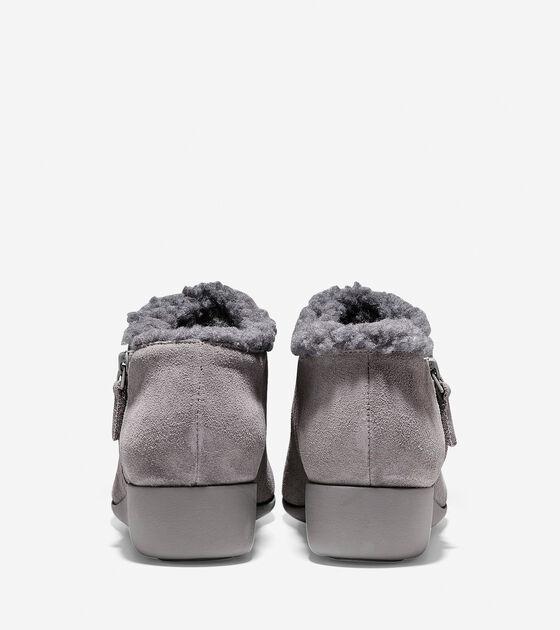 Callie Shearling Waterproof Rain Shoe (30mm)