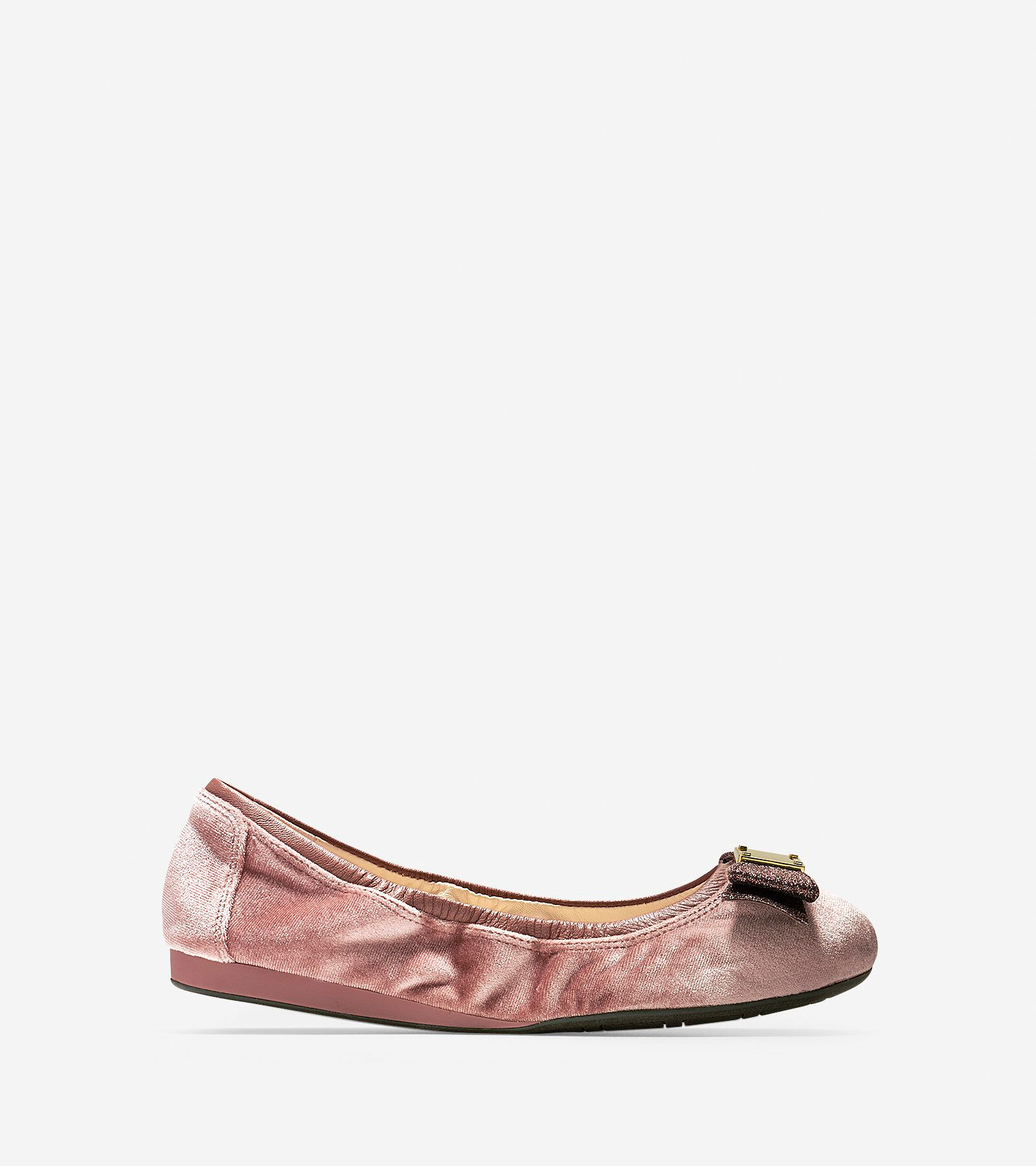 Cole Haan Tali Velvet Ballet Flats zdV1btES