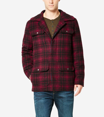 Plaid Wool Classic Hunter Jacket