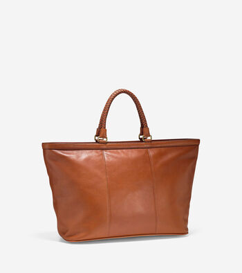 Pinch Heritage Leather Weekender