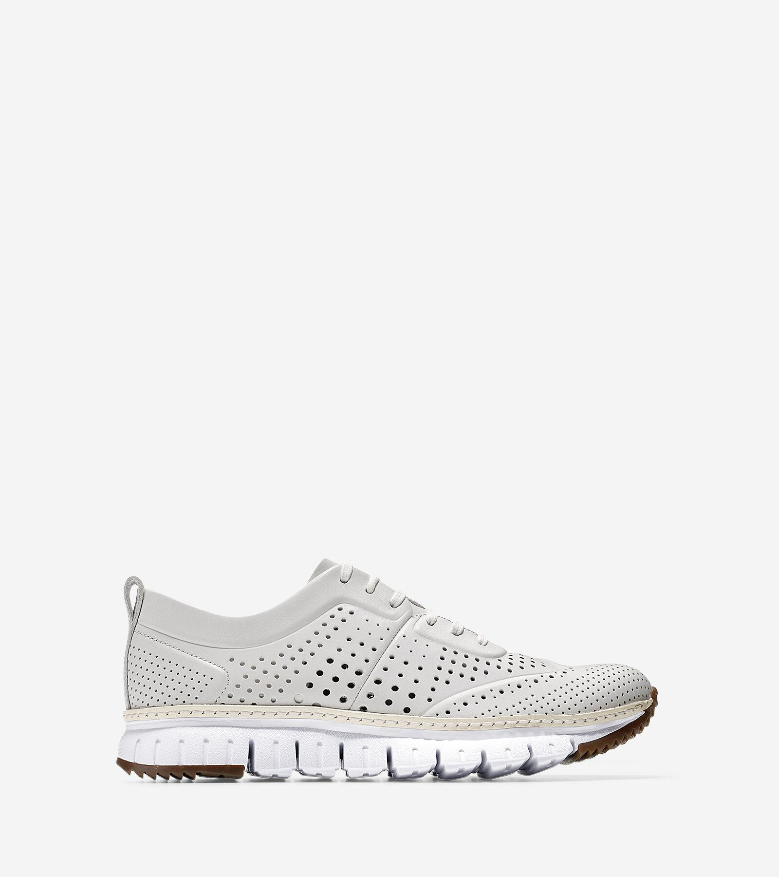 Shoes > ZERØGRAND Perforated Sneaker