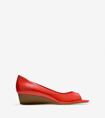 Elsie Open Toe Wedge (40mm)