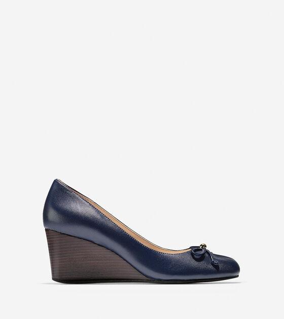 Ballet Flats & Wedges > Elsie Lace Wedge (65mm)