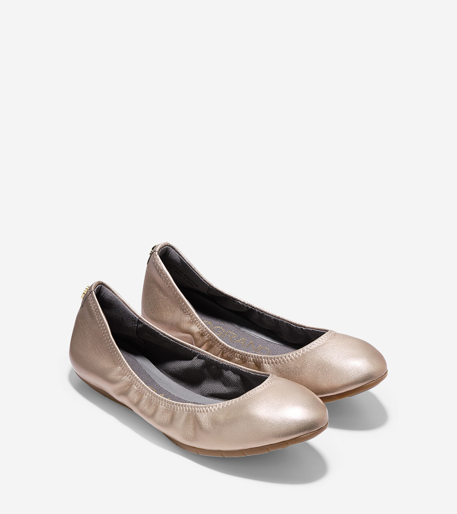 Cole Haan Zerogrand Women's Flats & Oxfords Soft Gold Size 7 M