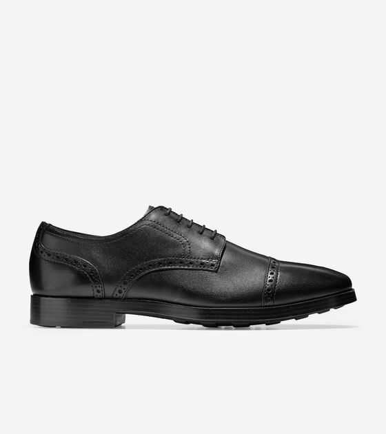 Oxfords & Monks > Jefferson Grand Cap Toe Oxford