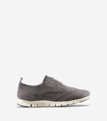 Women's ZERØGRAND Waterproof Deconstructed Wingtip Oxford