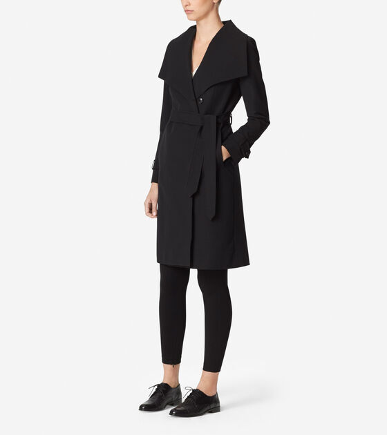 Tali Luxe Italian Cotton Trench Coat
