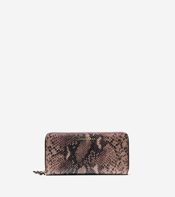 Accessories > Adeline Continental Zip Wallet