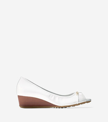 Tali Grand Open Toe Wedge (40mm)