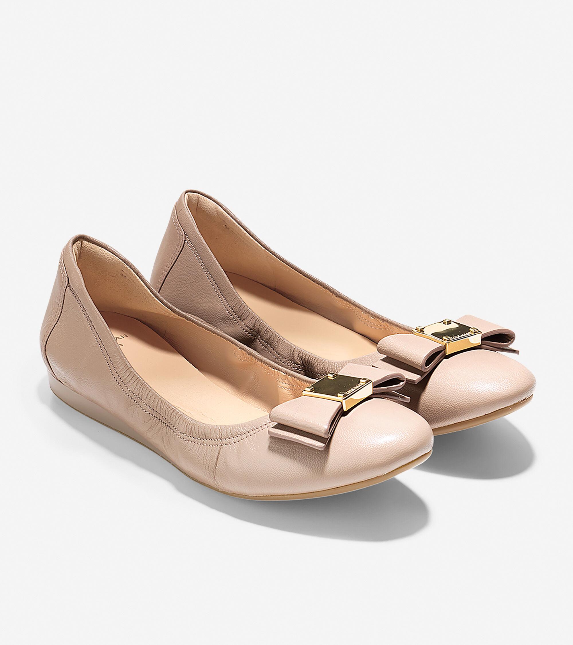 Cole Haan Tali Bow Ballet Flat (Women's) UZP3PeFG3B
