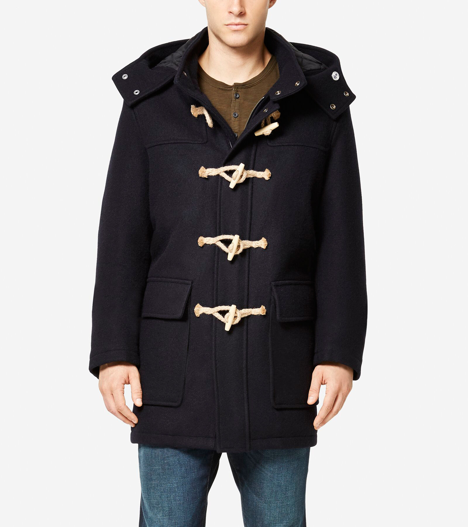 Cole Haan + Fidelity Made in America Duffle Coat ...