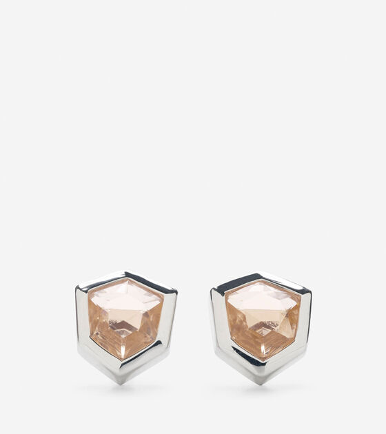 Accessories > Stone Stud Earring
