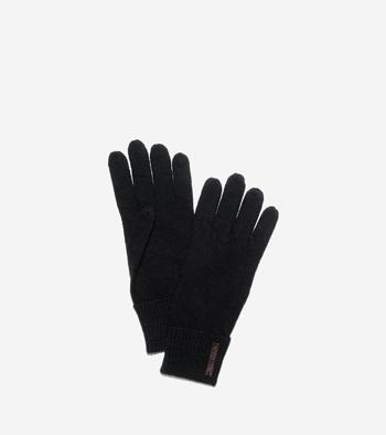Cuffed Wool Gloves