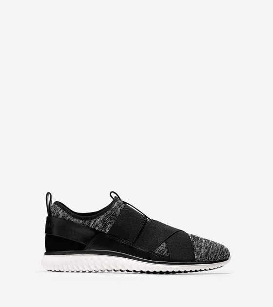 Sneakers > StudiøGrand Knit Cross-Strap Sneaker