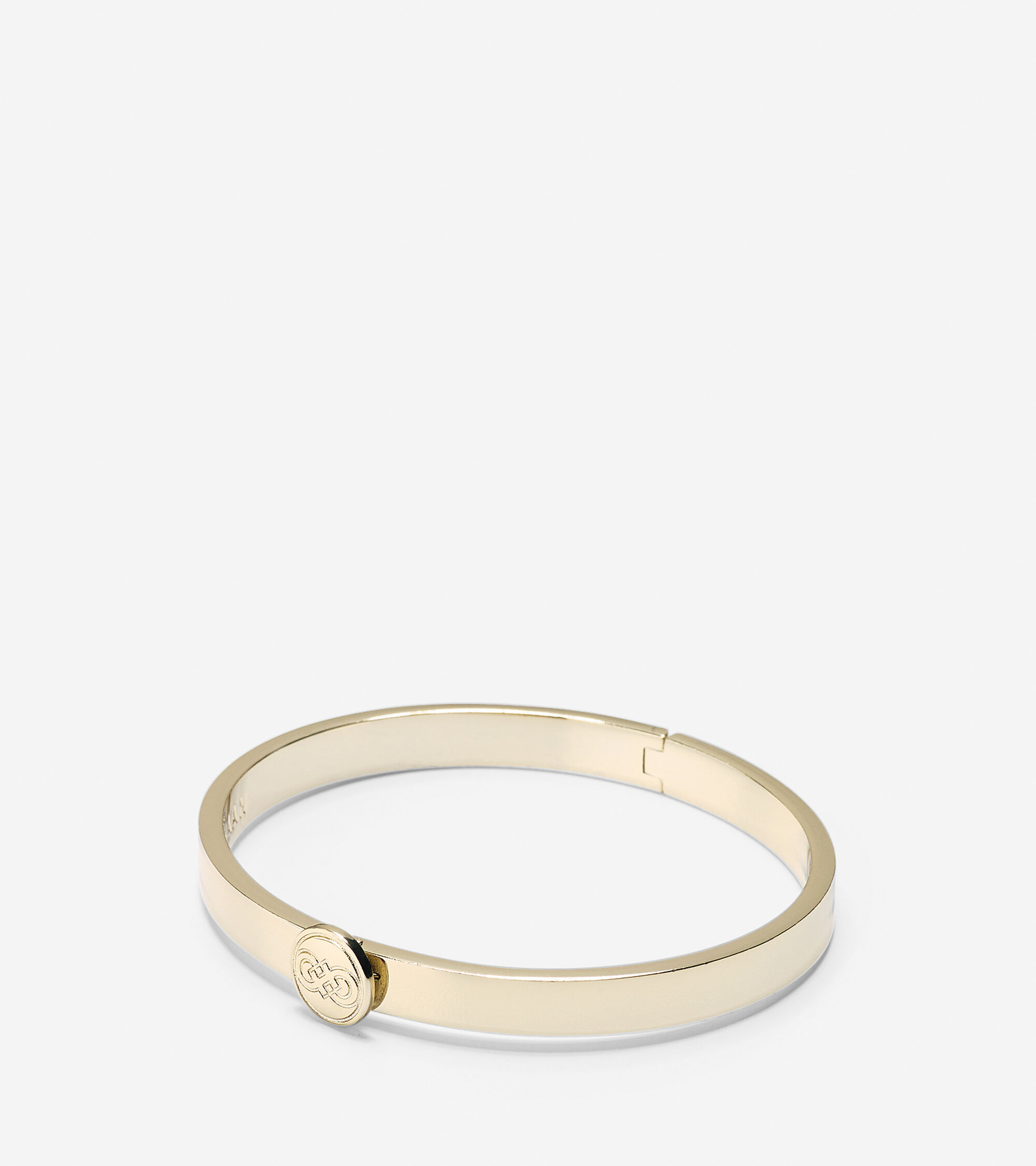 Accessories > Logo Hinge Bangle