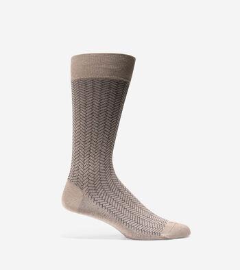 Geo Pattern Crew Sock