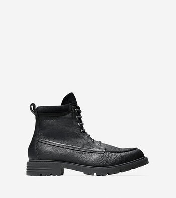 Men's Keaton Waterproof Moc Toe Lace Boot