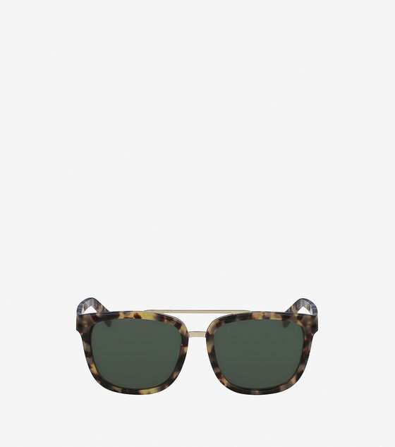 Accessories & Outerwear > Acetate Modified Rectangle Sunglasses