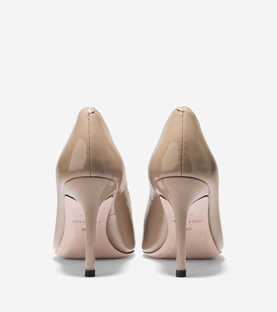 Bethany Pump (85mm) - Almond Toe