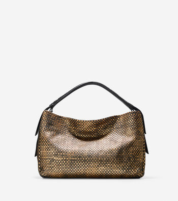 Bethany Weave Single Strap Hobo