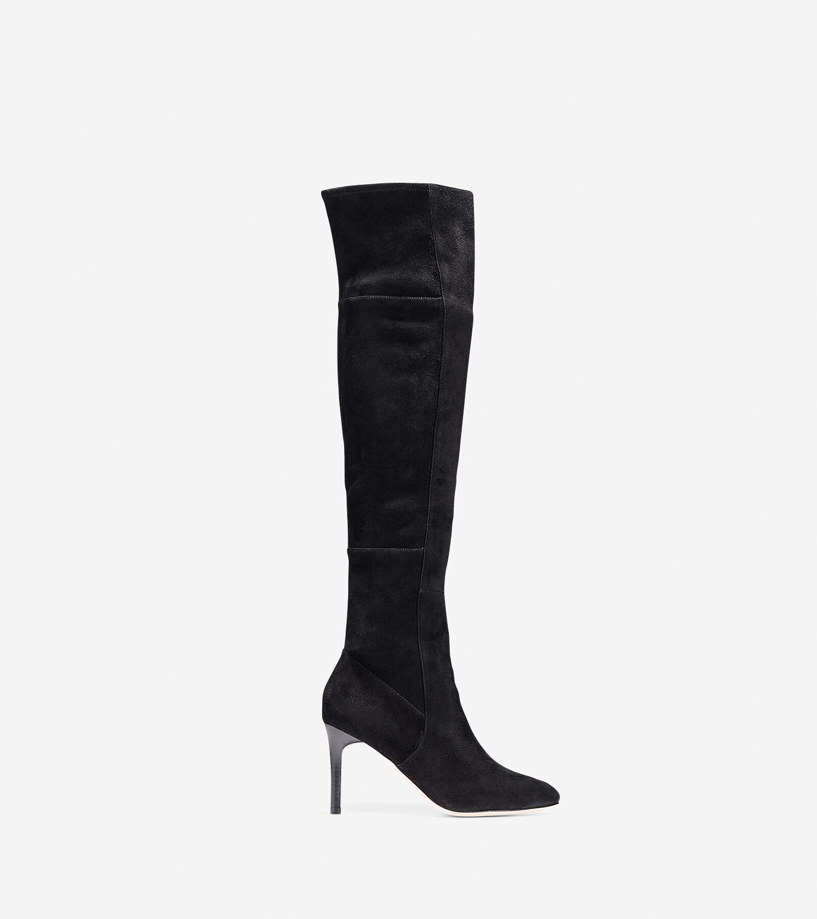 Suede Over The Knee High Heel Boots NlYPBSmg