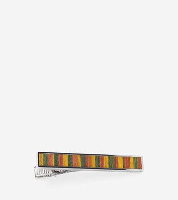 Wood Inlay Tie Clip