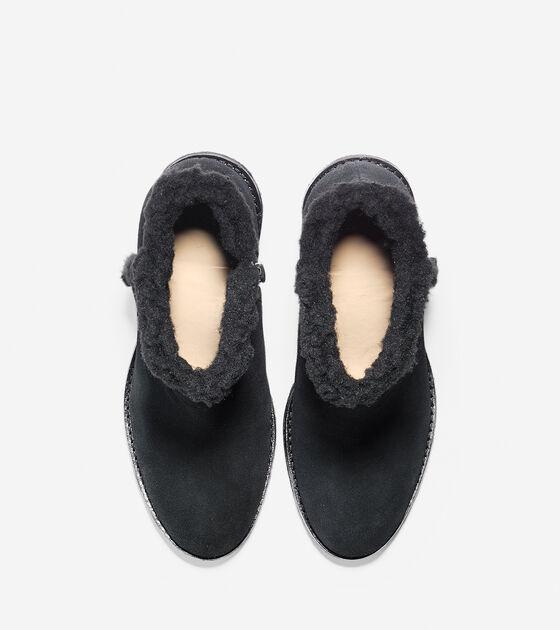 Michelle Shearling Waterproof Short Boot (55mm)