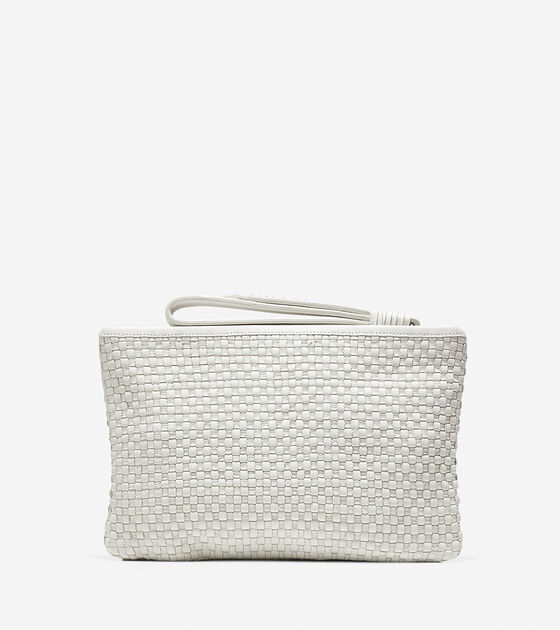 Bethany Weave Medium Pouch