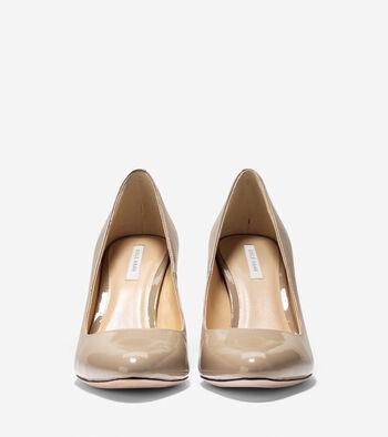 Bethany Pump (85mm) - Almond Toe