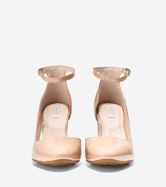 Lacey Ankle Strap Wedge (85mm)