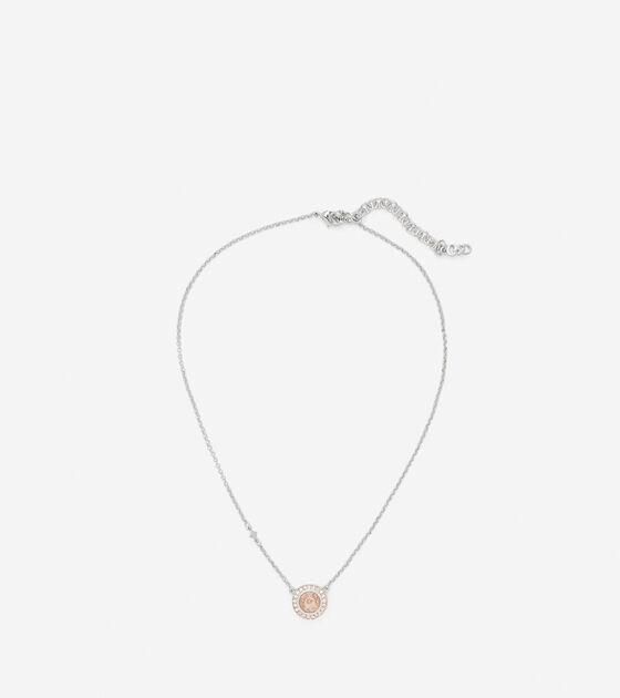 Swarovski Round Pendant Necklace