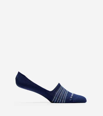 Grand.ØS Multi-Stripe Crew Sock Liner