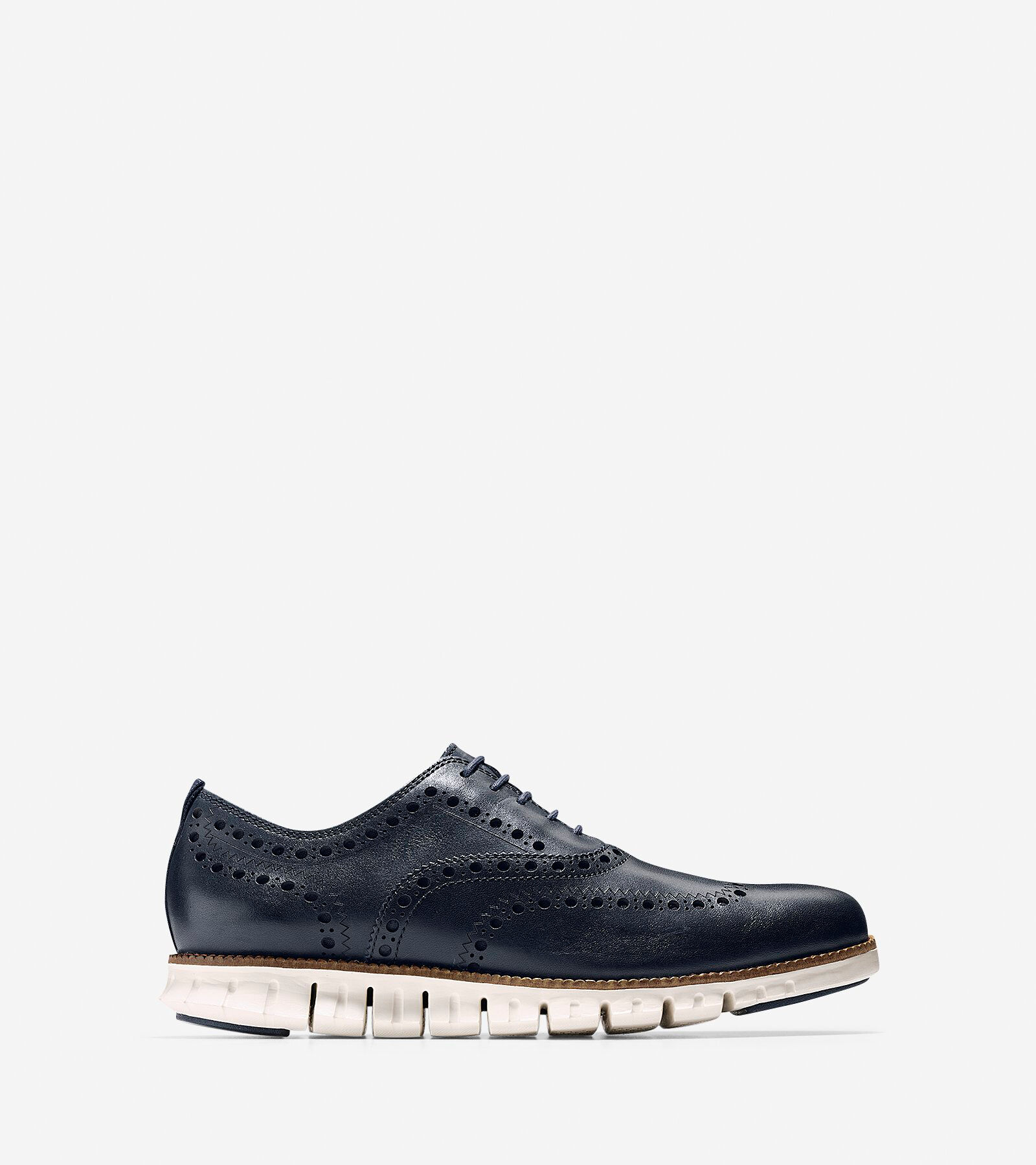 Men's ZERØGRAND Wingtip Oxford ...