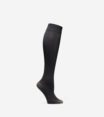 Textured Knee High Socks - 2 Pack