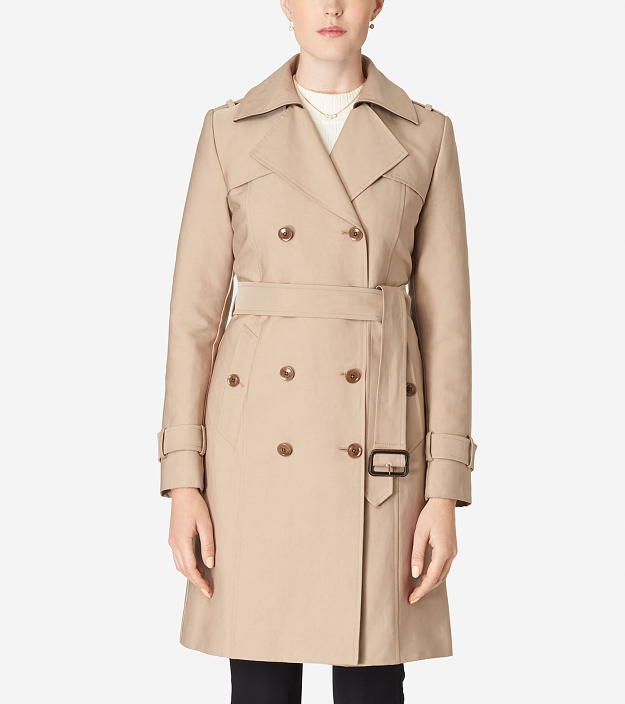 Outerwear > Tali Lined Trench Coat