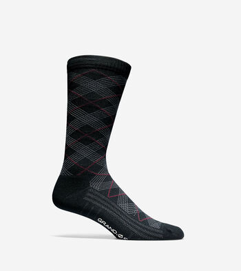 Grand.ØS Diamond Crew Socks