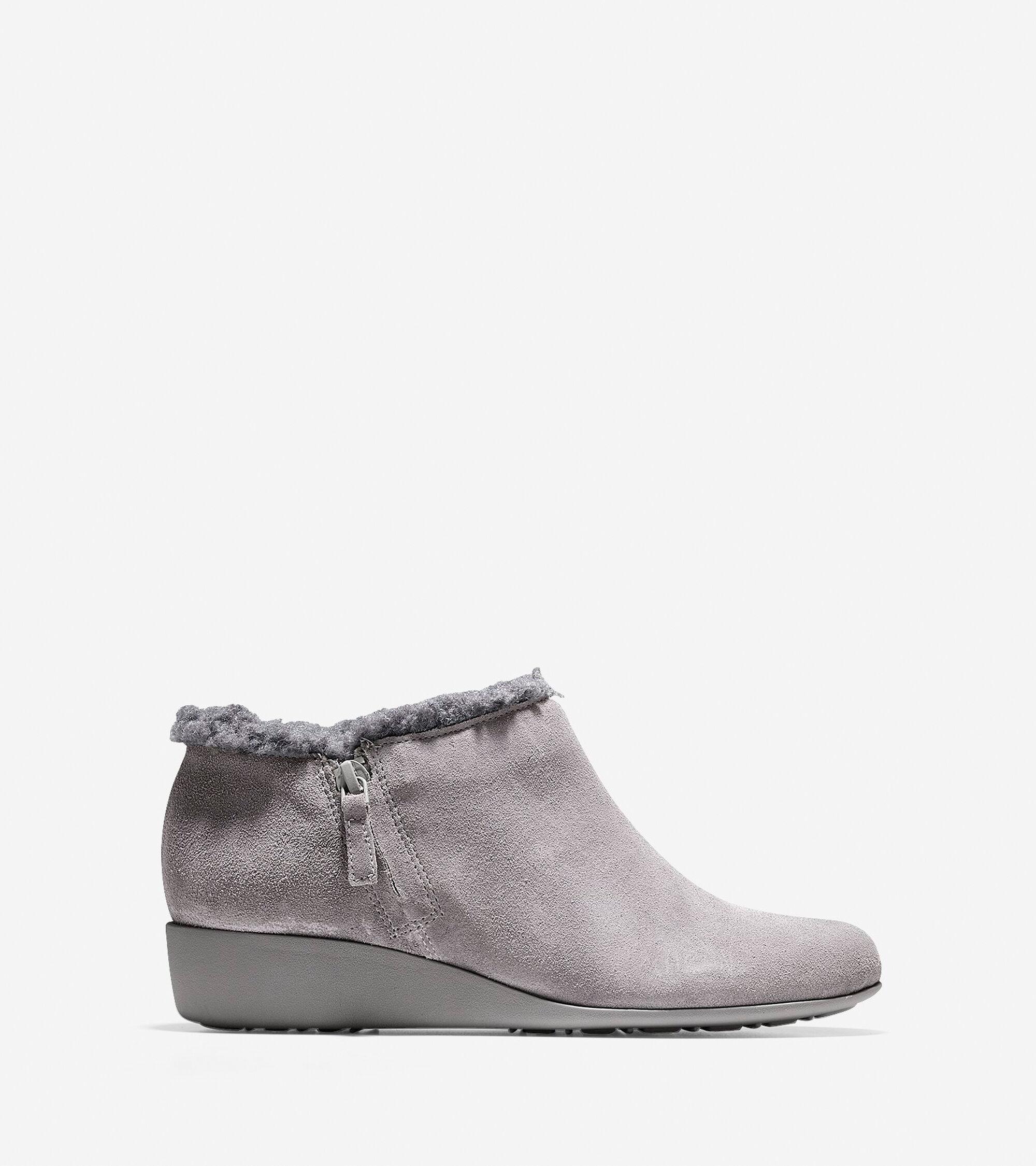 Shoes > Callie Shearling Waterproof Rain Shoe (30mm)